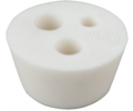 BrewBuilt™ 3-Hole Silicone Stopper (#10)