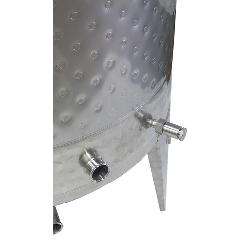 525L (138G) Jacketed Sealed Top Tank
