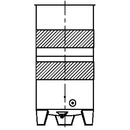 Cooling Jacket for Speidel FO- & FO-M-200-9100 Tank; L6 Layout, B4 Connection
