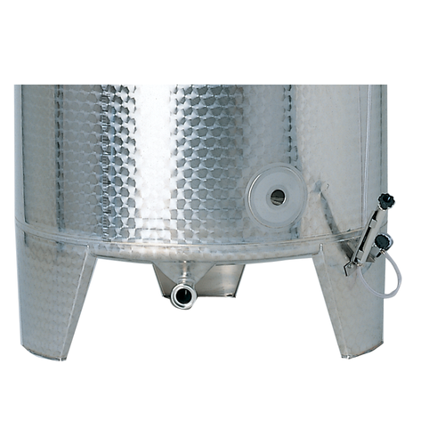 Speidel 1100L, 1000mm Diameter FO Dish Bottom Variable Volume Tank w/ Lid