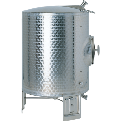 Speidel 8400L, 2000mm Diameter AS-MO Dish Bottom Sealed Stacking Tank