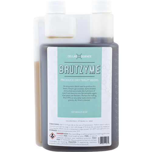 CellarScience™ Brutzyme - Glucoamylase Enzyme