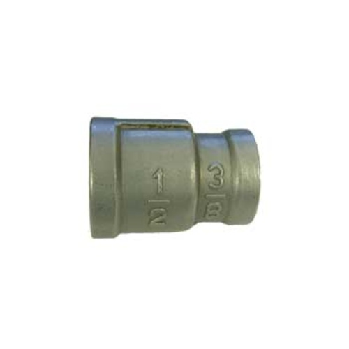 Stainless Coupler 3/8